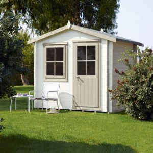 View Hartley 8X6 Loglap Timber Summerhouse - Assembly Required details