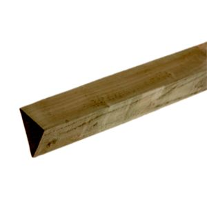 View Blooma Brown Timber Fence Arris Rail (L)2.4m (W)75mm (T)37.5mm details