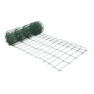 View Blooma PVC Coated Steel Wire Fencing (L)10 M (W)650 mm details