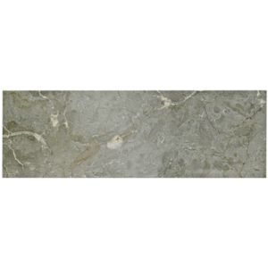 View Natural Stone Marble Grey Marble Wall & Floor Tile, Pack of 7, (L)457mm (W)152mm details