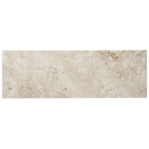 View Cappuccino Marble Wall & Floor Tile, Pack of 7, (L)457mm (W)152mm details