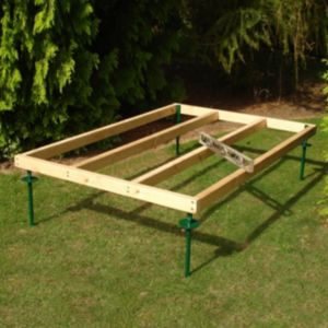View Blooma 6X4 Natural Timber Shed Base details