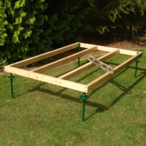 View Shire 6X4 Natural Timber Shed Base details