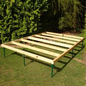 View Shire 7X7 Natural Timber Shed Base details