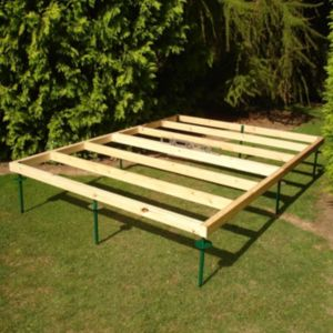 View Shire 8X6 Natural Timber Shed Base details