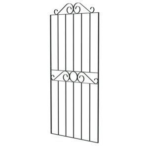 View Blooma Steel Swirl Top Narrow Gate (H)1.8m (W)770mm details