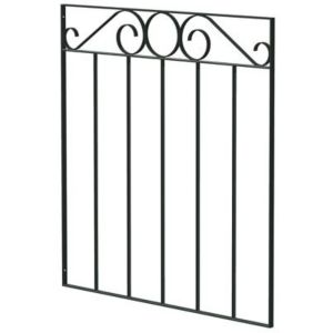 View Blooma Steel Swirl Top Wide Gate (H)850mm (W)810mm details