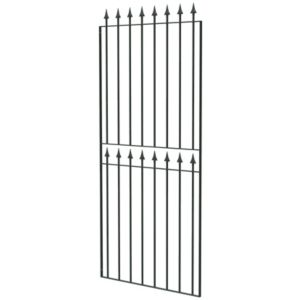 View Blooma Steel Spear Top Narrow Gate (H)1800mm (W)770mm details