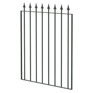 View Blooma Steel Spear Top Narrow Gate (H)930mm (W)770mm details