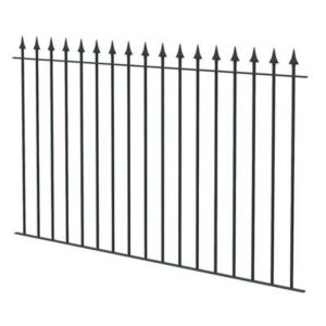 View Spear Top Spear Black Fence, (L)1810mm Of 1 details