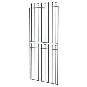 View Blooma Steel Ball Top Wide Gate (H)1800mm (W)810mm details