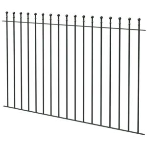 Ball Top Black Fence  (L)1810mm