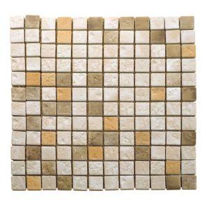 Natural Travertine Mosaic Tile  (L)300mm (W)300mm