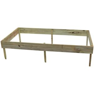 View Blooma Rustic Timber Raised Bed (H)150mm (W)1.8m details