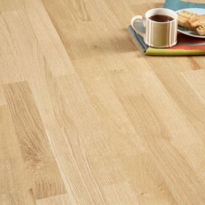 Image of Colours Libretto Limed Oak Real Wood Top Layer Flooring 1.58 m² Pack
