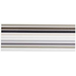 View City Chic Neutral Mix Ceramic Border Tile, (L)400mm (W)150mm details