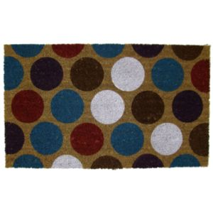 View Colours Araza Multicolour Coir Door Mat (L)750mm (W)450mm details