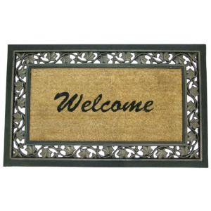 View Diall Brown Coir Door Mat (L)850mm (W)550mm details