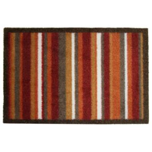 View Colours Durian Multicolour Stripe Nylon Door Mat (L)600mm (W)400mm details
