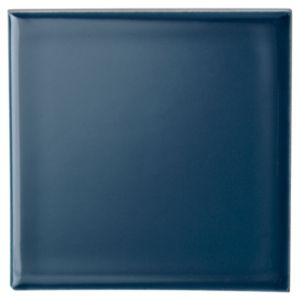 View Utopia Teal Ceramic Wall Tile, Pack of 25, (L)100mm (W)100mm details