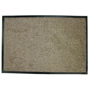 View Diall Beige Cotton Door Mat (L)1.2m (W)800mm details