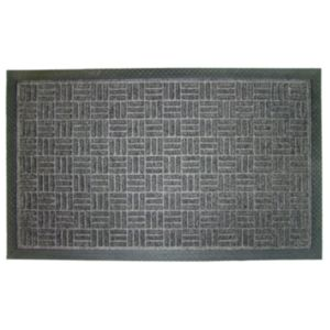 View Diall Grey Plastic Door Mat (L)900mm (W)600mm details