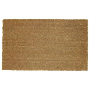 View Diall Brown Coir Door Mat (L)700mm (W)400mm details