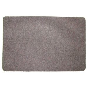Image of Value Brown Plastic Door Mat (L)600mm (W)400mm