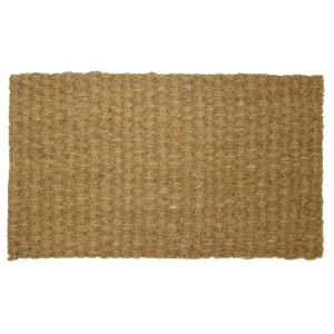 View B&Q Value Brown Coir Door Mat (L)600mm (W)350mm details