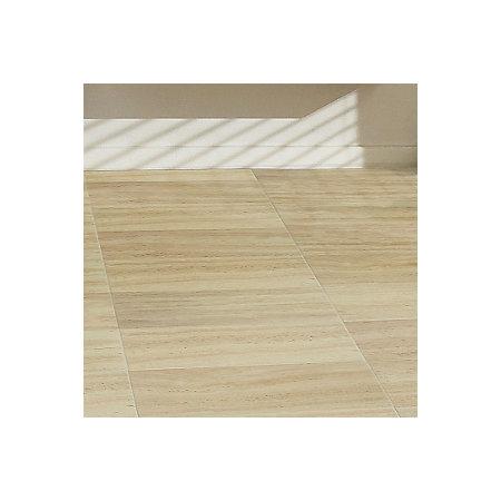 Leggiero Cream Travertine Tile Effect Laminate Flooring 1