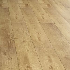 View Colours Amadeo Natural Oak Effect Laminate Flooring 2.22 sq.m Pack details