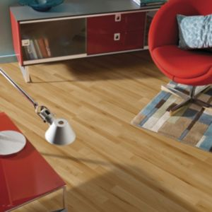 View B&Q Value Beech Effect Laminate Flooring 2.5m² details