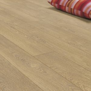 View Pusilla Natural Oak Effect Laminate Flooring 1.76 m² Pack details
