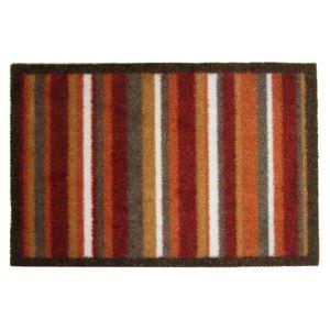 Colours durian multicolour stripe nylon door mat l 800mm for Door mats argos