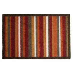 View Colours Durian Multicolour Stripe Nylon Door Mat (L)800mm (W)600mm details