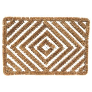 View Diall Brown Coir & Galvanised Wire Door Mat (L)600mm (W)400mm details