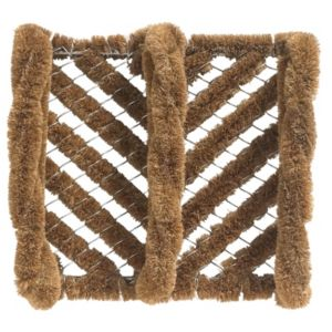 View Diall Brown Coir & Galvanised Wire Door Mat (L)340mm (W)300mm details