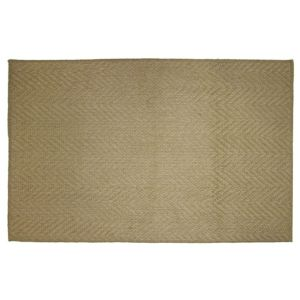 View Diall Brown Herringbone Jute Door Mat (L)750mm (W)450mm details