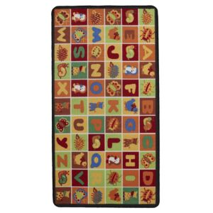 View Colours Carmine Multicolour Alphabet Playmat (L)1.5m (W)800mm details