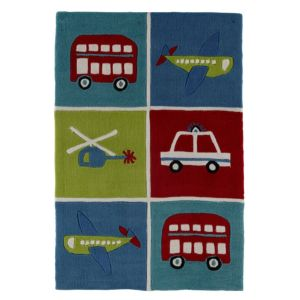 View Colours Arion Multicolour Transport Rug (L)1.2m (W)800mm details