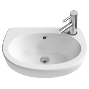 View Cooke & Lewis Slimline Semi Recessed Basin details