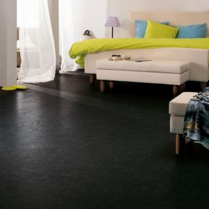 Colours Dizi Black Marble Effect Vinyl