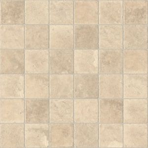 View Colours Valiha Beige Tile Effect Vinyl 6m² Sheet details