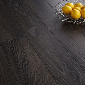 View Colours Toccata Victoria Dark Oak Effect Laminate Flooring 1.65 sq.m Pack details