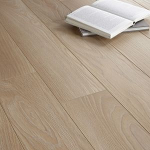 View Colours Toccata Light Oak Effect Laminate Flooring 1.65 sq.m Pack details