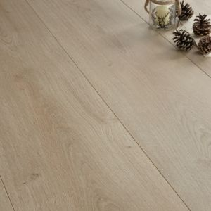 View Colours Soneto Light Oak Effect Wide Plank Laminate Flooring 2.18 sq.m Pack details