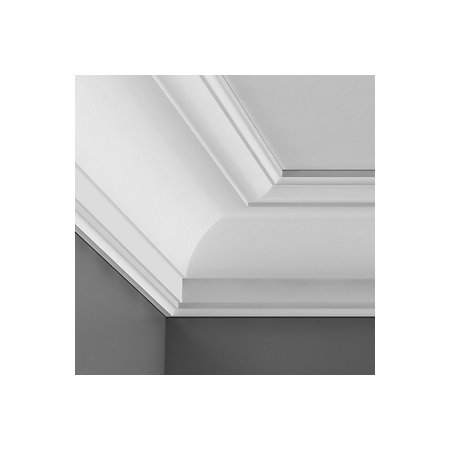 Colours c profile internal corners l 25cm w 94mm t 94mm for Coving corner template