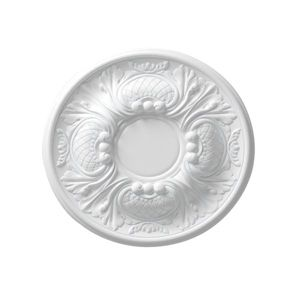 Image of Colours Nayak White Ceiling Rose (Dia)300mm
