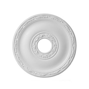 Image of Colours Nayak White Ceiling Rose (Dia)405mm