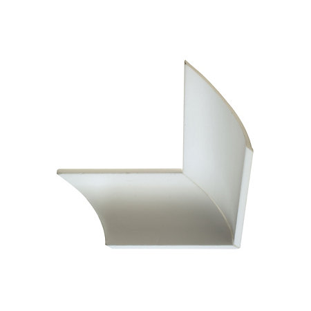 Colours classic c profile polystyrene coving l 18 m t for Coving corner template